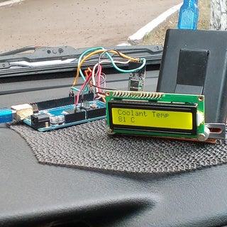 Arduino OBD2 ELM327 I2C-LCD HC05 Bluetooth