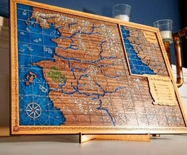 Epoxy Resin Fantasy Maps