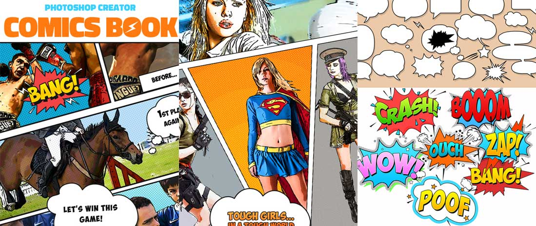 How to Make a Comic Book, Pop Art, Cartoon From a Photo in Photoshop