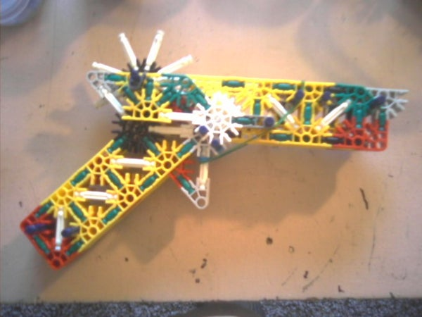 """Gunzo the Great"" Knex Semi-Automatic Rubber Band Gun"