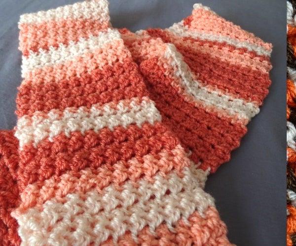 Glover Stitch Scarf – Free Crochet Pattern & Video Tutorials