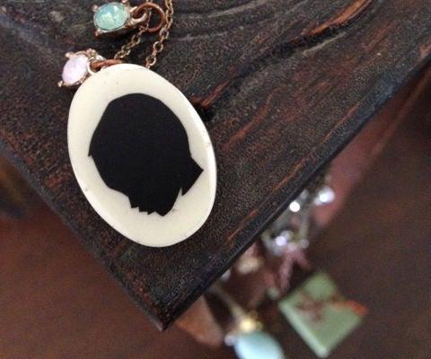 Dependant-Pendant (silhouette Charm)