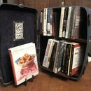 BookCASE: Travel bookcase in a suitcase!