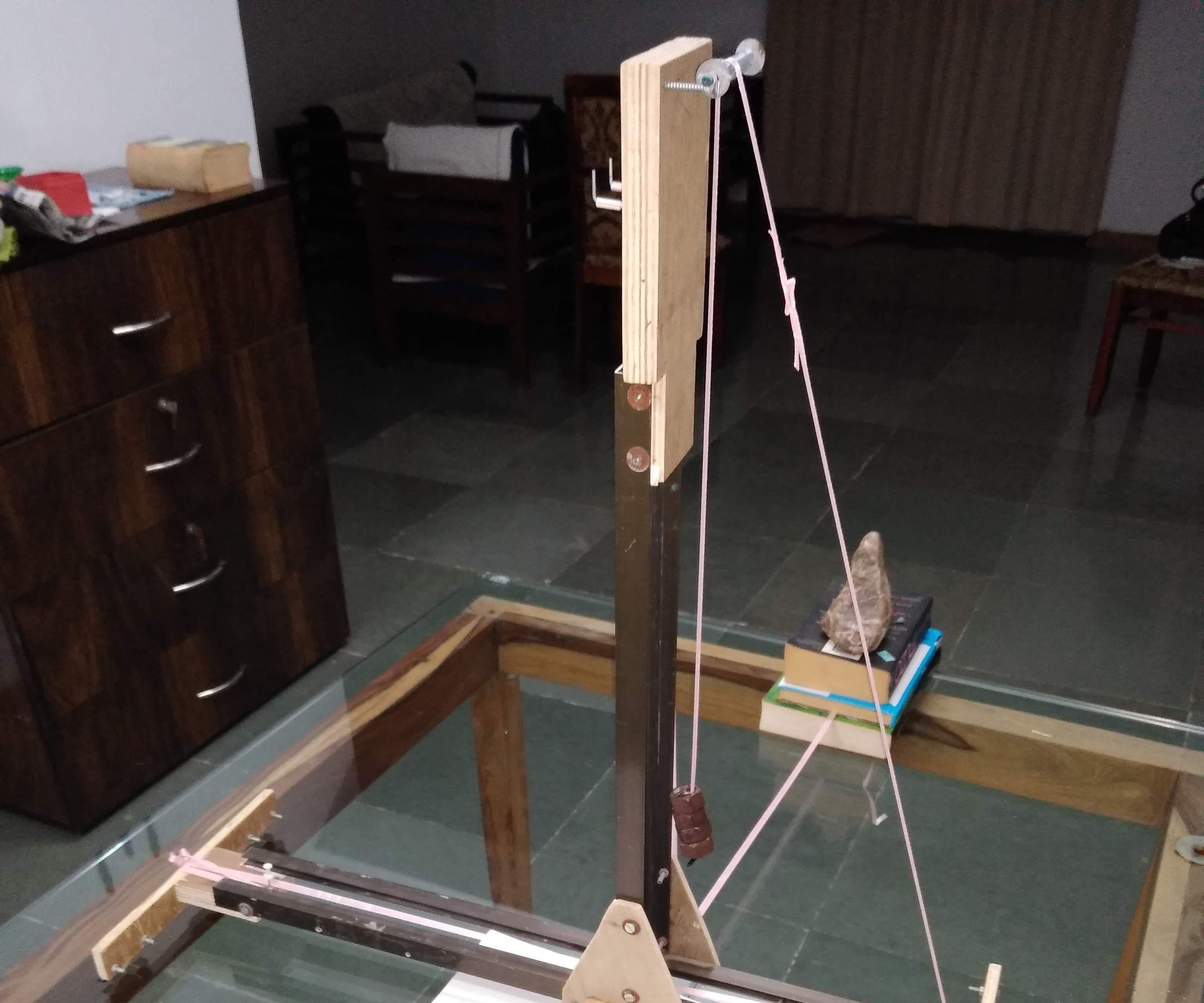 Gravity Assisted Upturned T Arch Maker (GAUTAM)