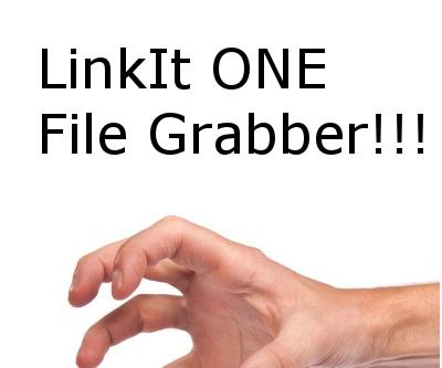 LinkIt One File Grabber and Reader