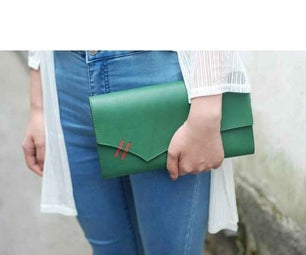 Leather Lady Hand Purse