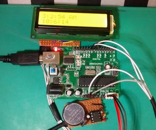 Arduino Real Time Clock (DS1307)
