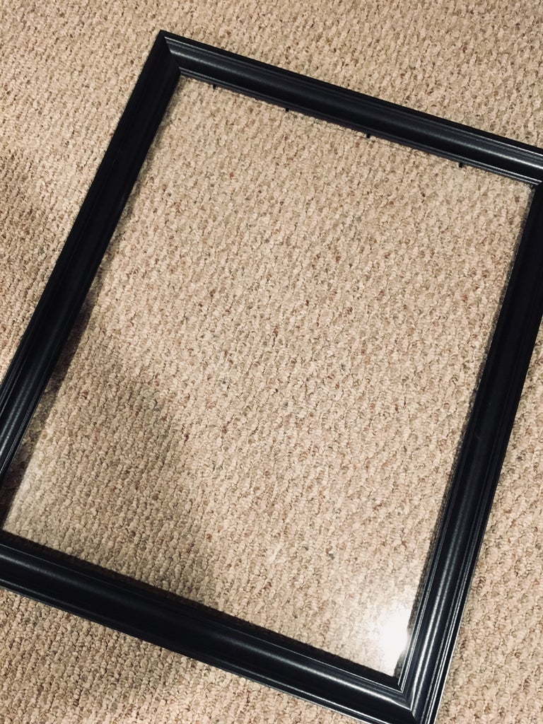 Clean the Glass to the Frame