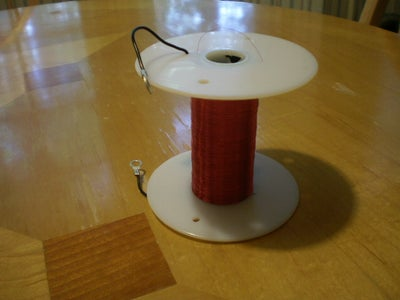 Winding a Homemade Induction Coil