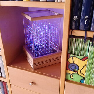 Self-Contained 7x7x7 LED Cube
