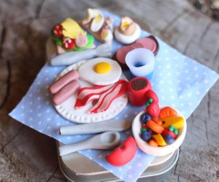 Travel Toy - Miniature Magnetic Breakfast