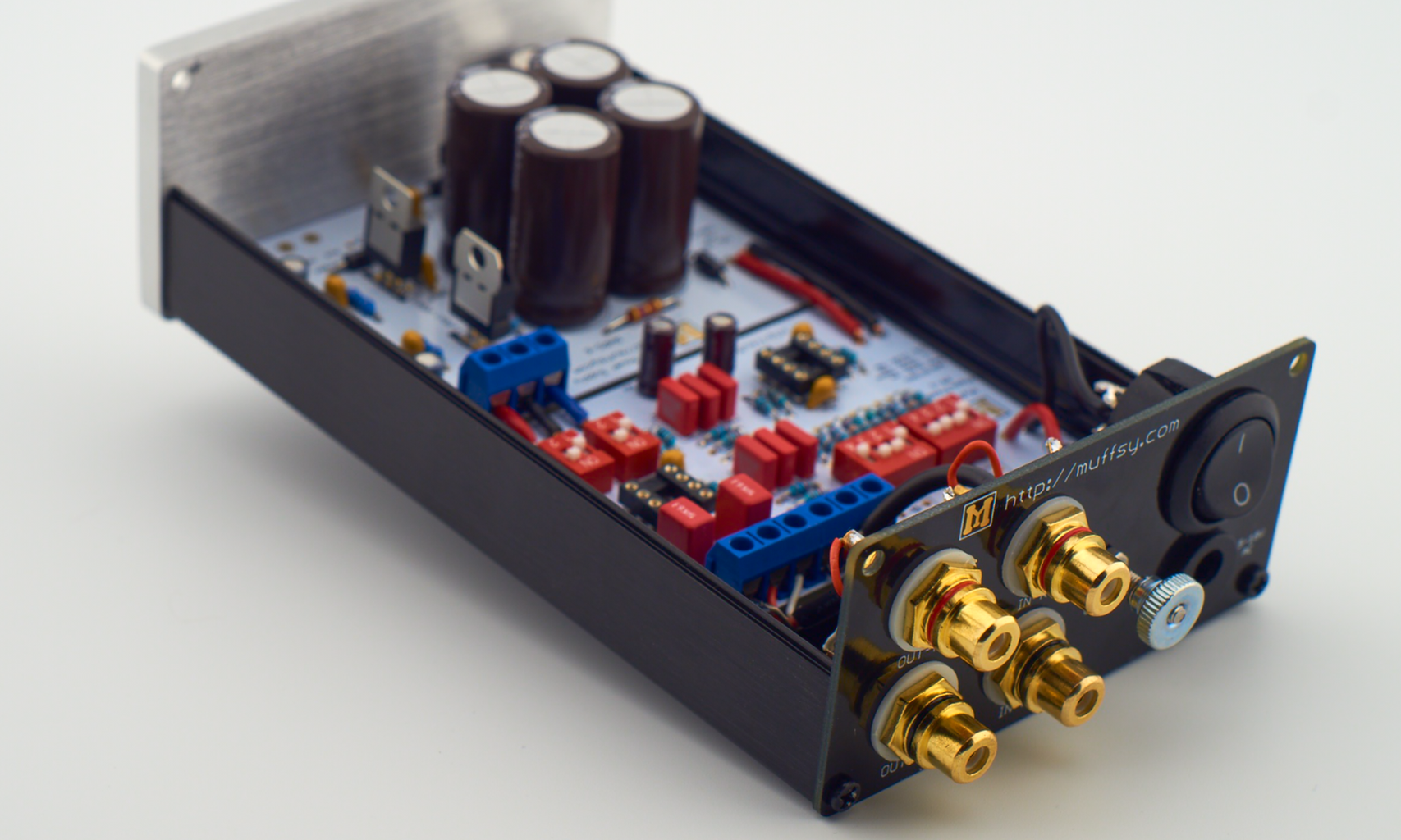 Building the Muffsy Phono Preamp PP-2