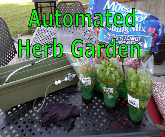 Automated Herb Garden - Edison