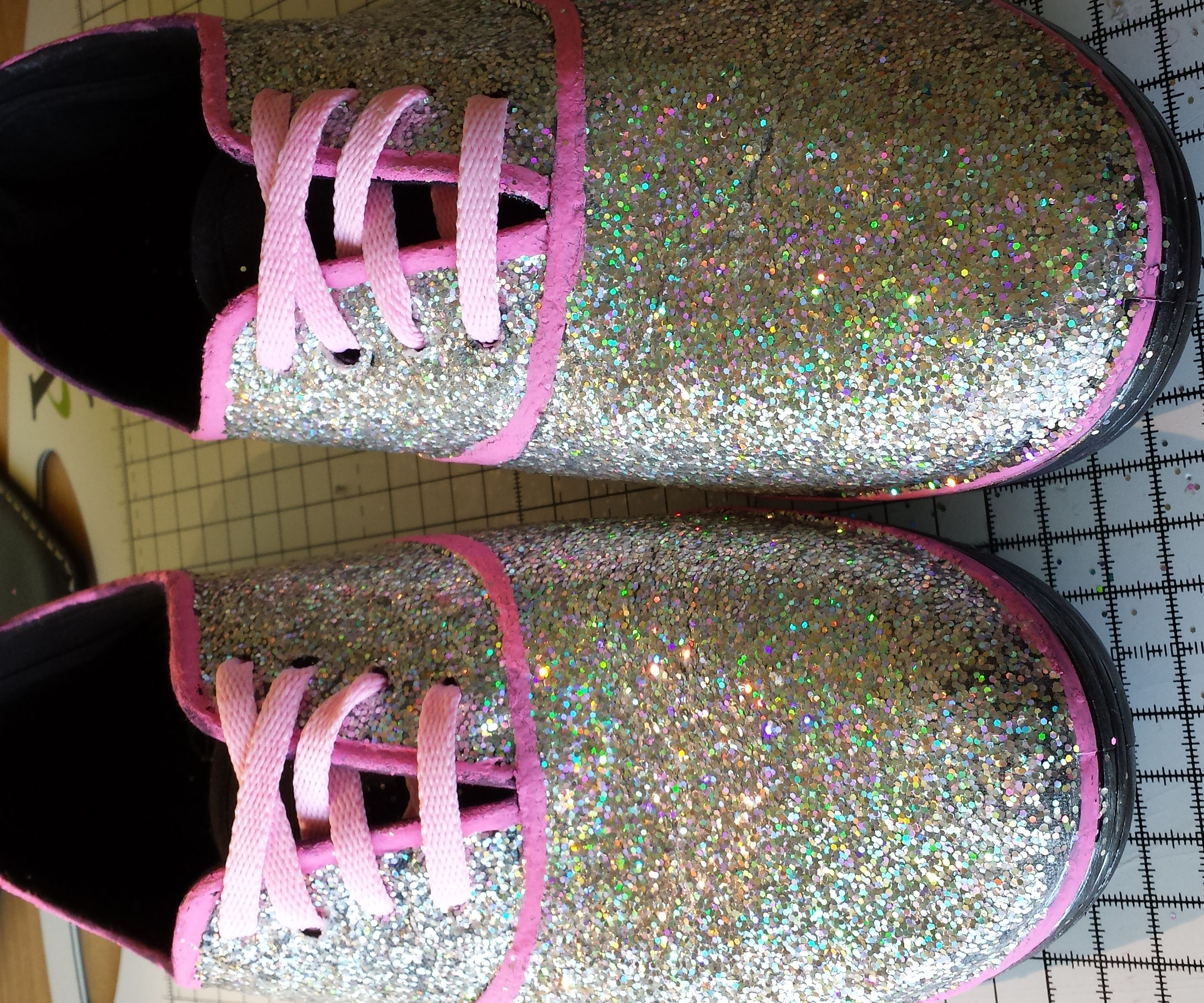 Glitter Trainers/Sneakers