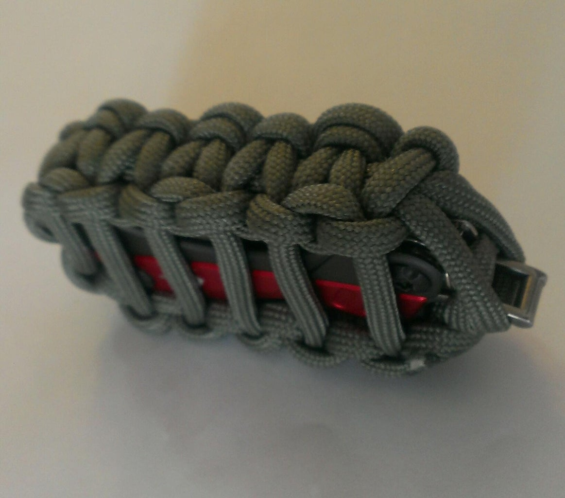 Paracord Pouch for Mini Multi-Tools Leatherman PS4 or Gerber Dime