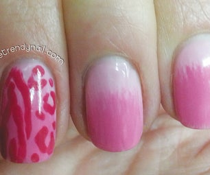 Animal Print / Ombre Nails