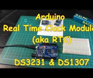 #5 Arduino Compatible Real Time Clock Modules (DS1307 & DS3231)