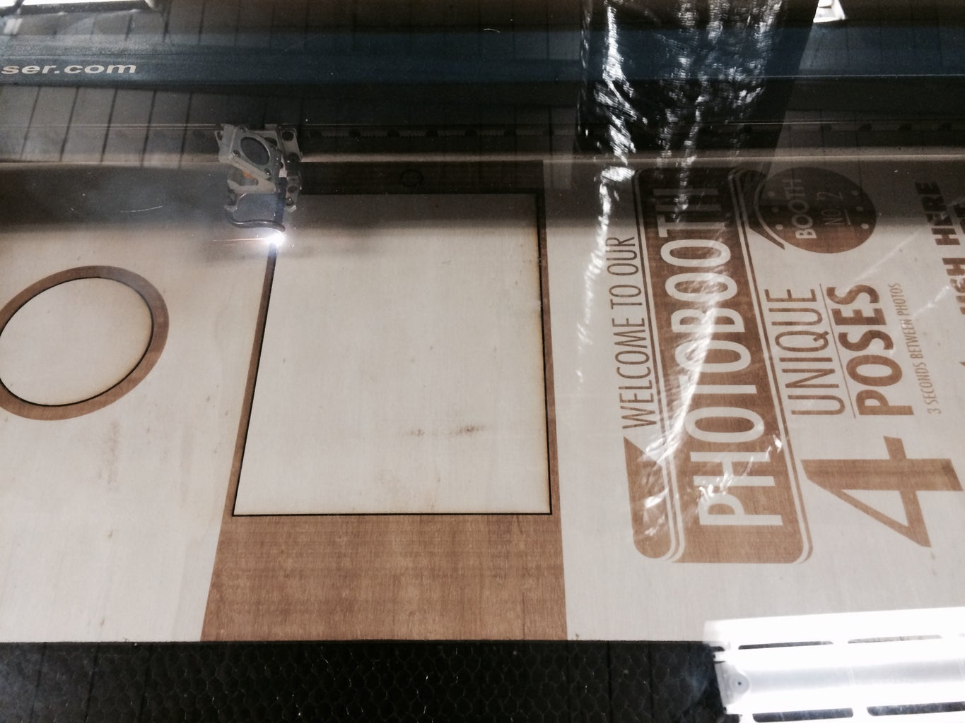 The Structure: Laser Cutting the Front Board