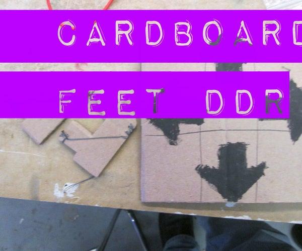 Cardboard Feet DDR
