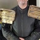 Judge Dredd Shoulder Armour