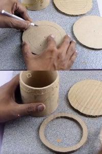 Let's Cut Circular Cardboards!
