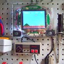 DIY Workbench Playable NES