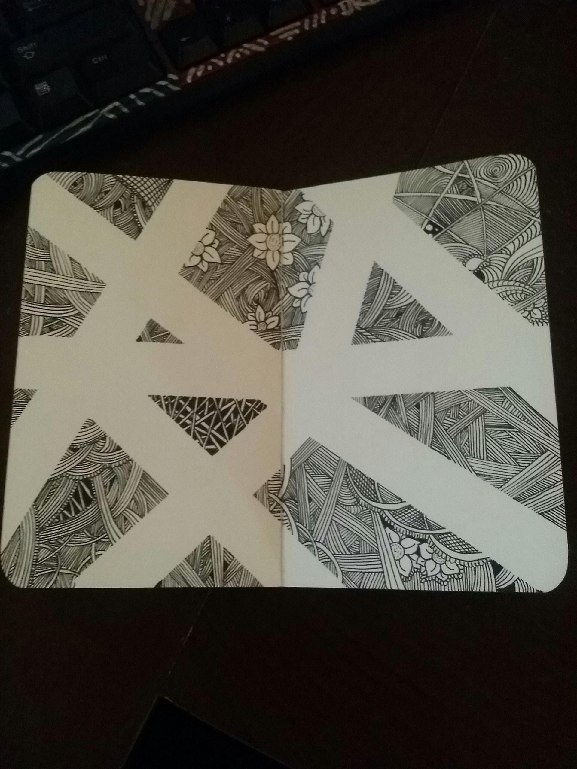 Fun sketchbook doodle