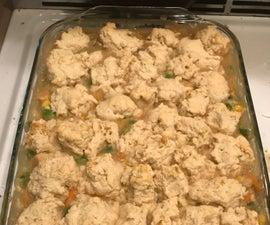 Vegetarian Chicken Pot Pie