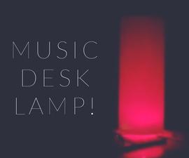 Arduino Music Desk Lamp With Bluetooth!