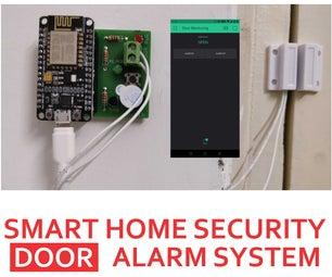 DIY Door Sensor for Security Using ESP8266