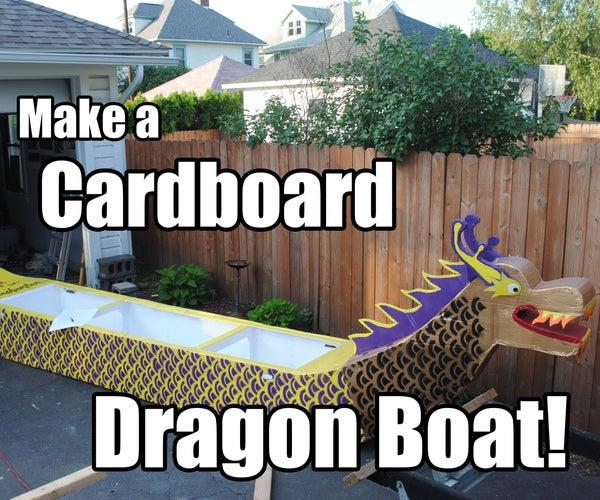 Make a Cardboard Dragon Boat!