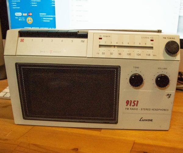 AirPlay Radio With Raspberry Pi and WiFi