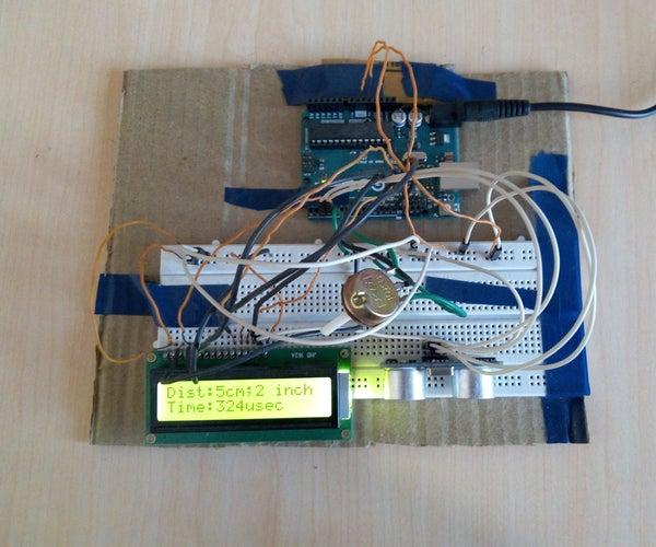 Distance Measurement Project Using Arduino and Ultrasonic Sensor
