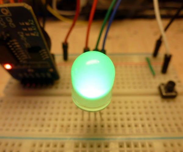 Using a Single RGB LED (or a LED Strip) to Show Information: Clock, Thermometer and a Weird Communicator