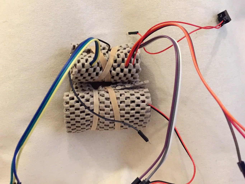 Sew Pouch & Prepare Electronics