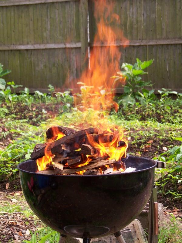 Smoke Roasting a Chicken in a Weber
