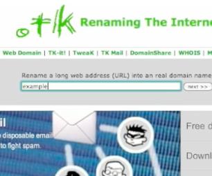 Get a Free Domain Name (.tk)
