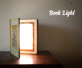 LED Book Light - Inside a Book!