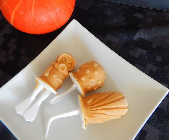 Pumpkin Pie Popsicles