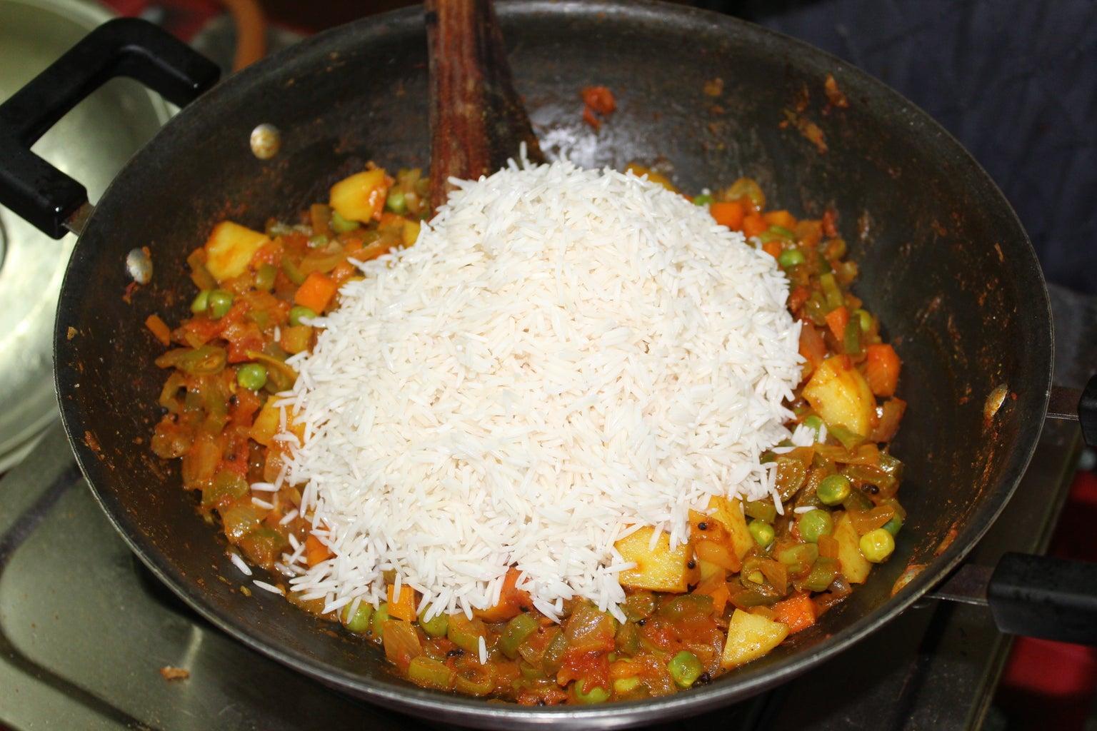 Add the Rice