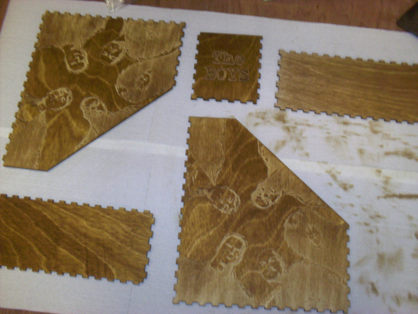 Apply Wood Stain and Wax