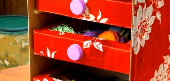 How to Make a Chest of Drawers From Recycled Materials