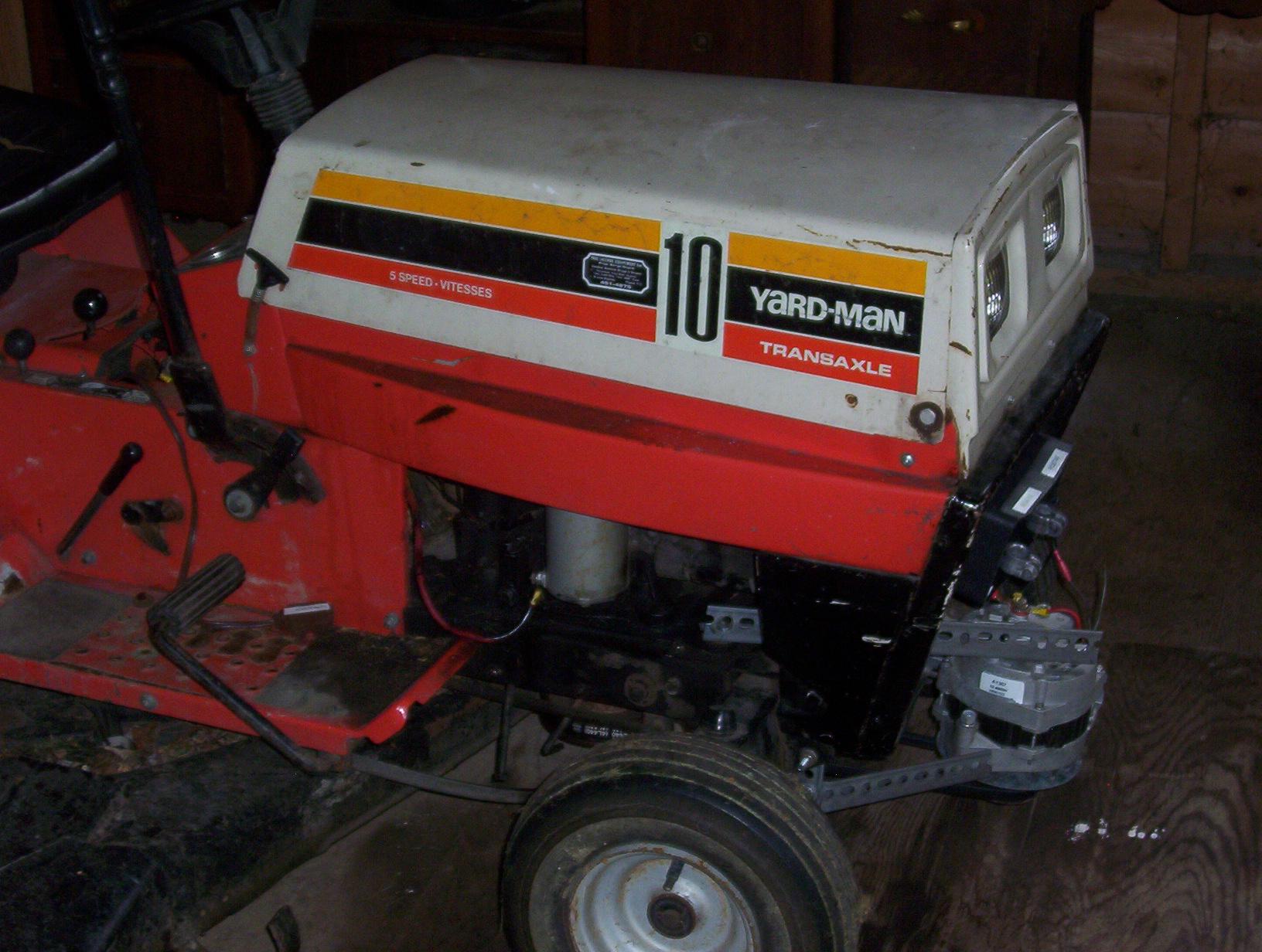 Homebuilt Generator (Riding Lawn Mower) 1Kw