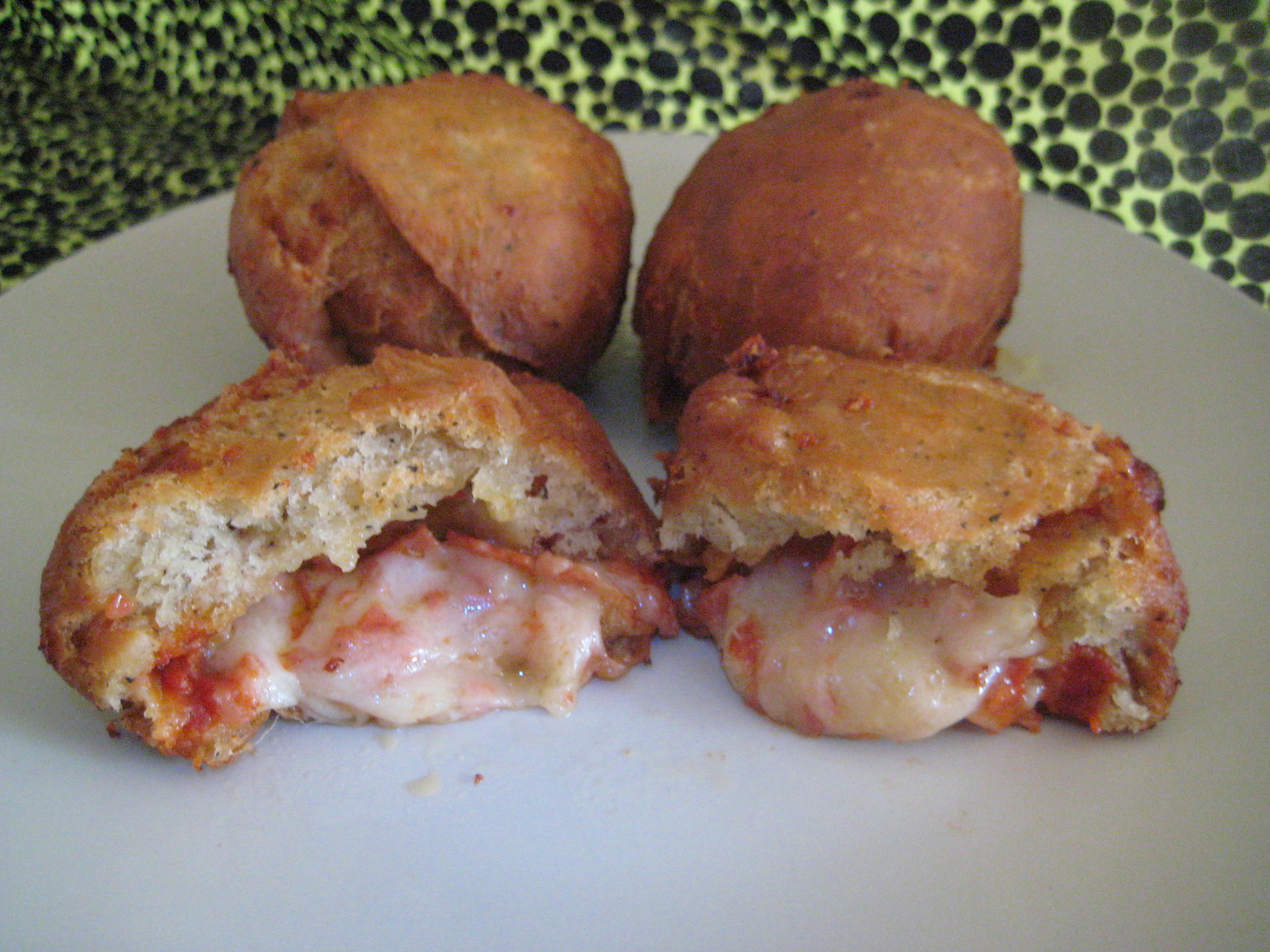 "Deep Fried Pizza ""Donuts"""