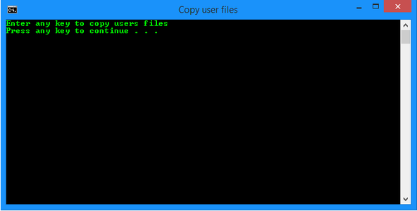 Advanced File Copying With Batch Files!
