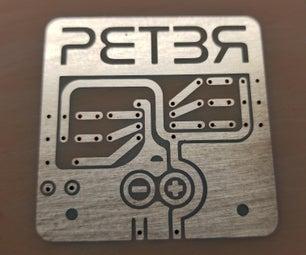 SLA 3D Printer Acid Etched Circuit Boards