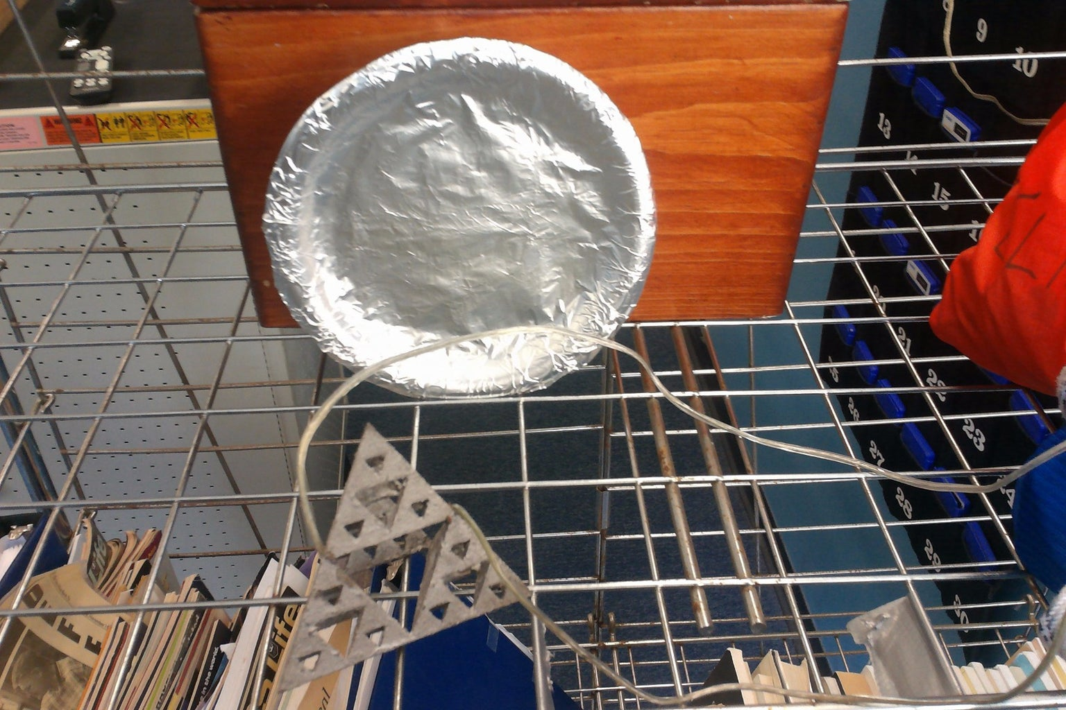 Make an Easy DIY Parabolic Reflector