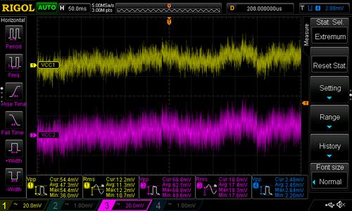 Test: Bias Generator Noise