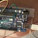 control servo using arduino and rock band guitar