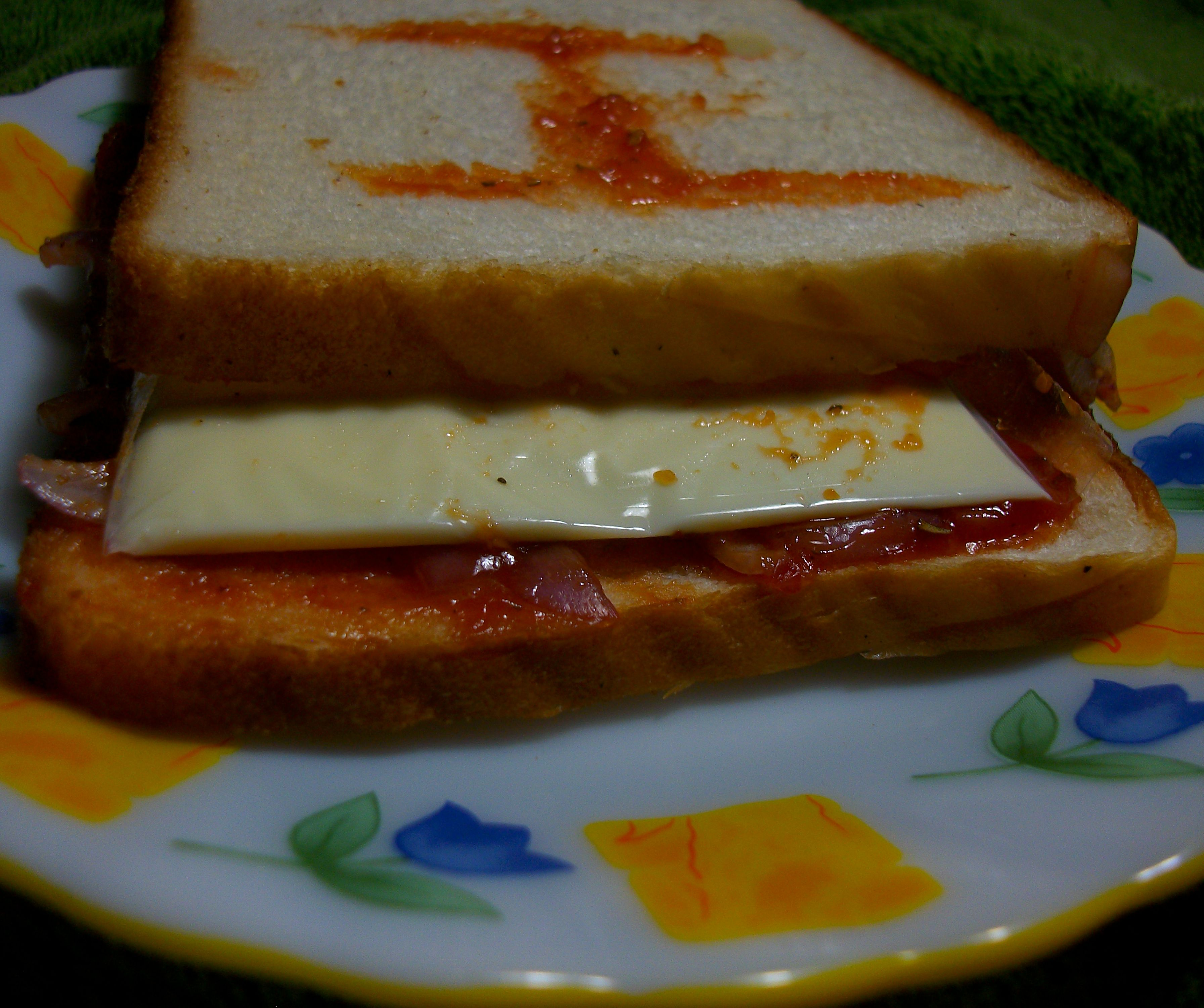 Cheese Sandwich Prank